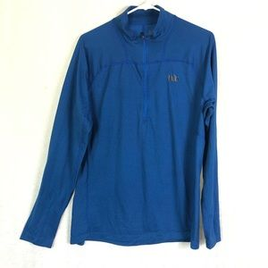 REÍ Pullover Blue 1//2 Zipper